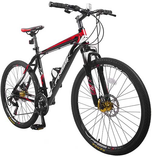 "Merax Finiss 26"" Aluminum Mountain Bike"