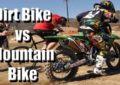 Mountain Bike vs Dirt Bike