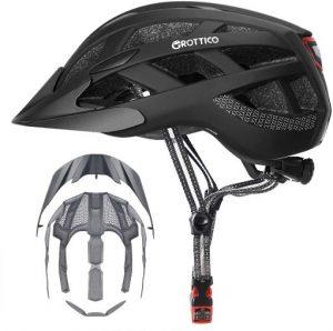GROTTICO Adult Bike Helmet with Light