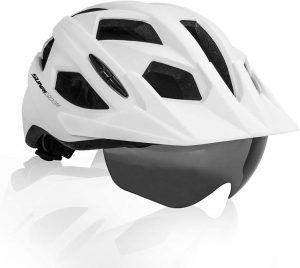 SUNRIMOON Adult Bike Helmet - best bike helmet with safety lights